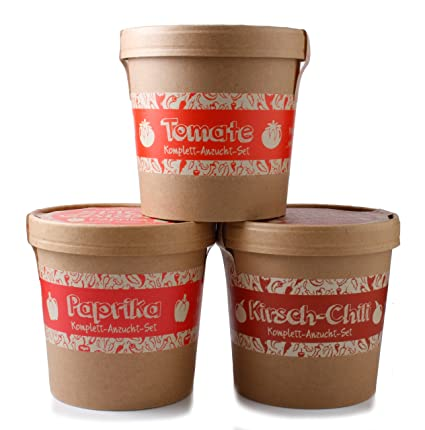 Mein Chili Garten Ideales Chilianzucht-Set als Geschenk zu Weihnachten Ein originelles Geschenk f/ür jeden Anlass Geburtstag oder Ostern