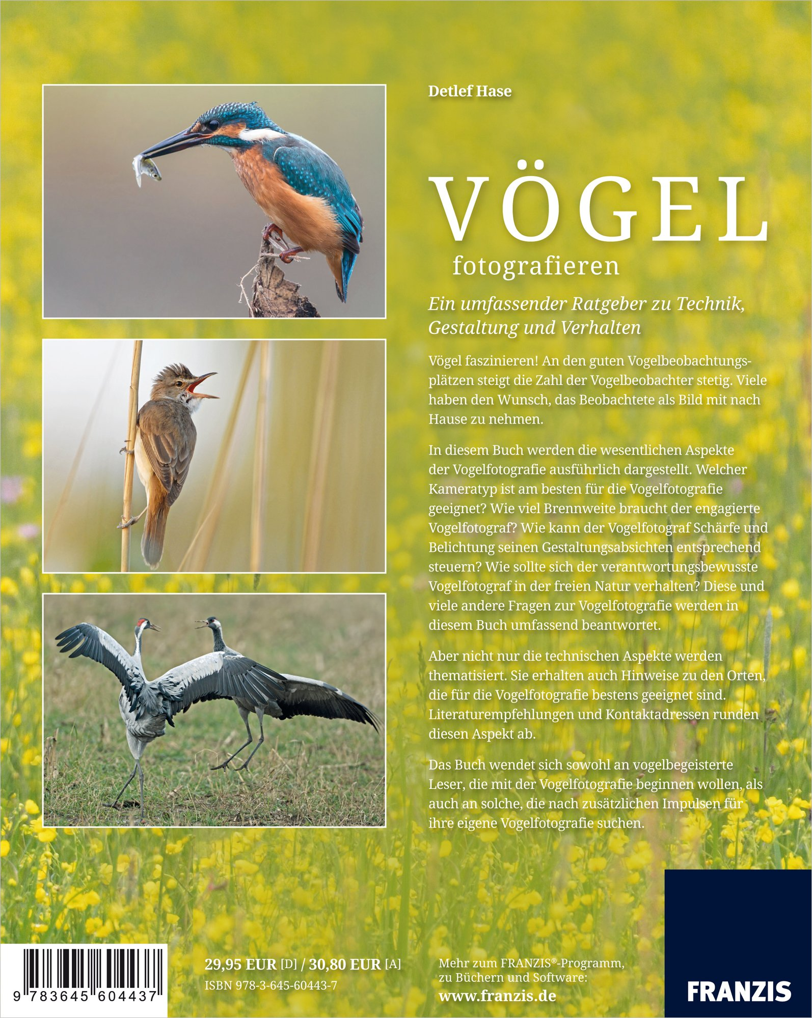 Vögel fotografieren: 9783645604437: Amazon.com: Books