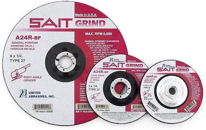10-Pack United Abrasives-SAIT 63252 6 x 48 40X AOX Quick Ship Sanding Belt