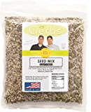 Pumpkin, Sunflower, Chia, Flax, Hemp Seed Raw Mix by Gerbs - 2LBS - Top 11 Food Allergen Free & NON GMO - Vegan & Kosher – Made in USA