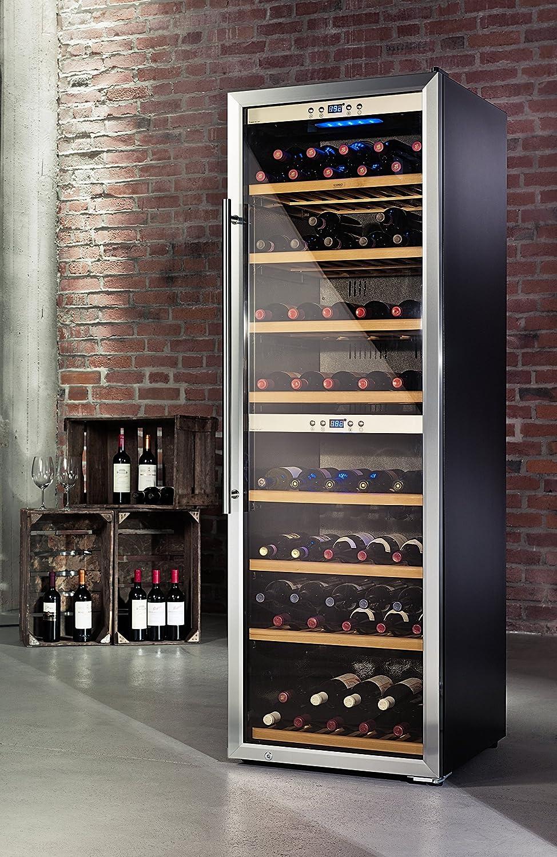 CASO WineComfort 180 Design Weinkühlschrank für bis zu 180 ...