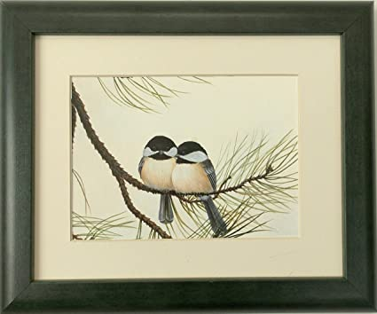 15399c87268 Image Unavailable. Image not available for. Color  Audubon Chickadee Wildlife  Bird Print 8 X 10 Wall Decor