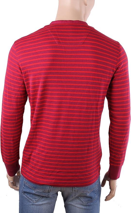Timberland Hombre Camisa Manga Larga Blue Hill River (Large ...