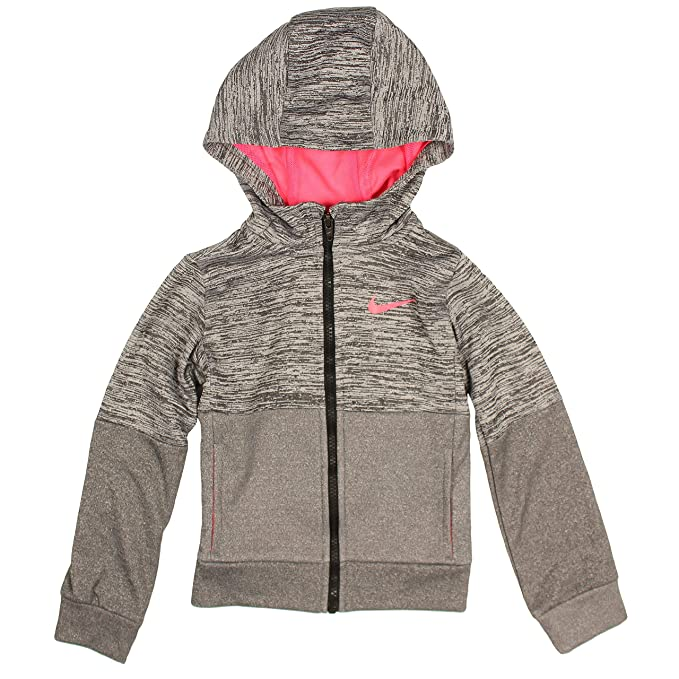 Amazon.com Nike Girls\u0027 Full Zip Dri,FIt Therma Hoodie Clothing