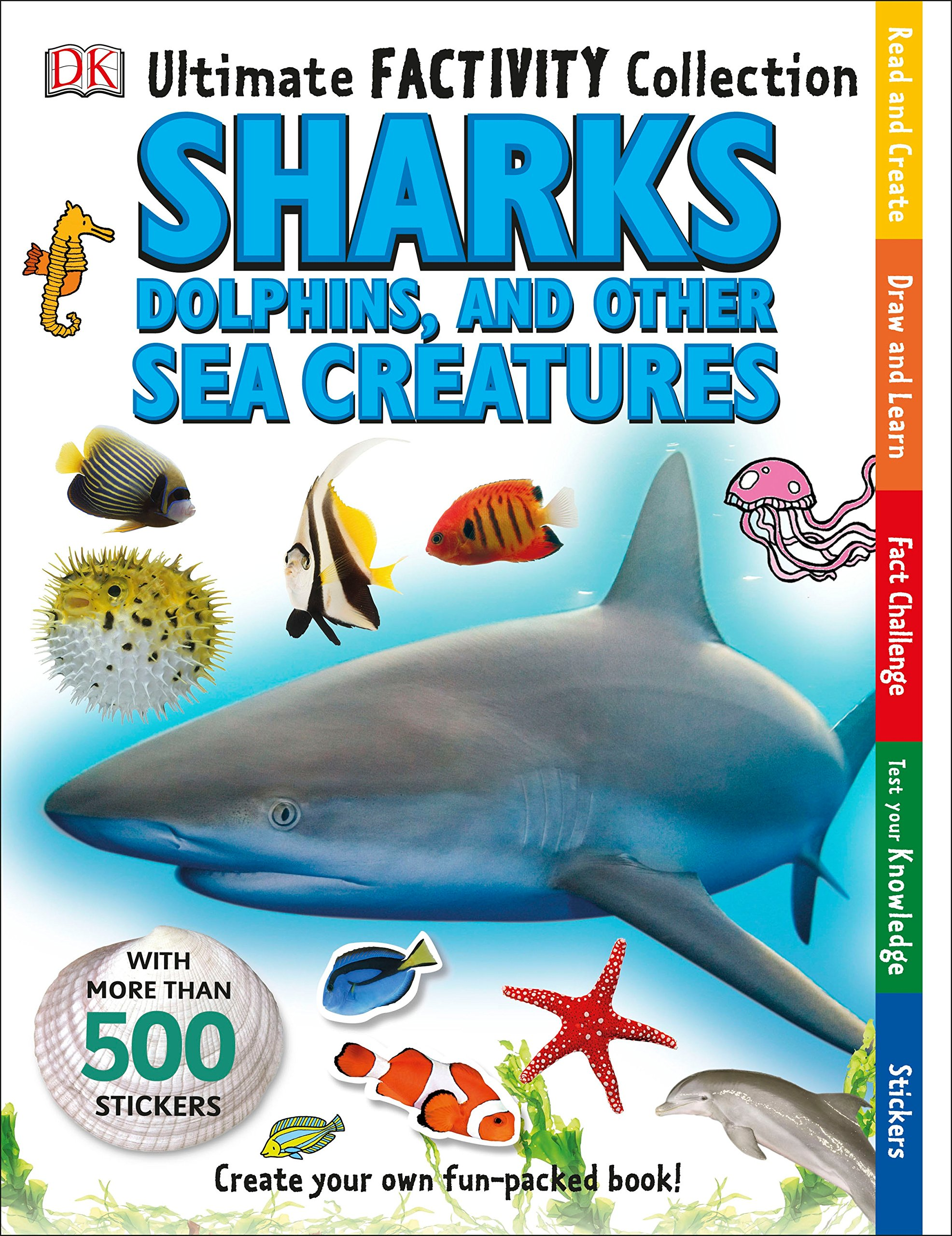 Download Ultimate Factivity Collection: Sharks, Dolphins, and Other Sea Creatures (DK Ultimate Factivity Collection) pdf