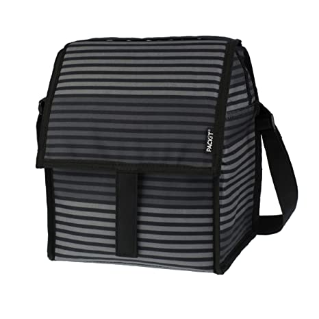 8f4129dd1699 Image Unavailable. Image not available for. Color  PackIt Freezable Deluxe  Large Lunch Bag with Shoulder ...