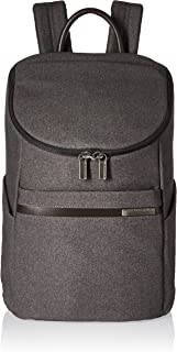 Briggs & Riley Briggs and Riley Kinzie Street Small Wide Mouth Backpack, Grey, One Size (Model: ZP130-10)