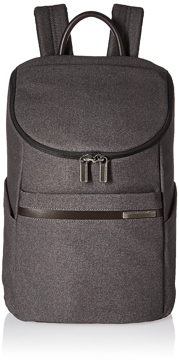 Briggs /& Riley Kinzie Street Small Wide Mouth Backpack Grey