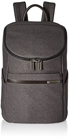 Briggs Riley Kinzie Street, Small Wide Mouth Backpack, Grey