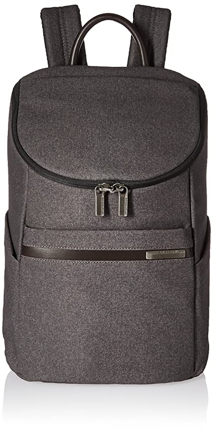 a81a7a621 Briggs & Riley Briggs and Riley Kinzie Street Small Wide Mouth Backpack,  Grey, One