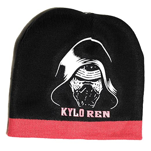 c9ae89ec60d Image Unavailable. Image not available for. Color  Star Wars Kylo Ren knit  hat ...