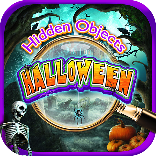 Hidden Objects Halloween Mystery and Haunted Object Quest Spy & Spot Differences Autumn Fall Spooky Ghost Game (Manor Halloween)