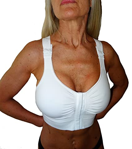Amazon.com: CzSalus Post-op bra after breast enlargement or reduction - Nude size L: Health & Personal Care