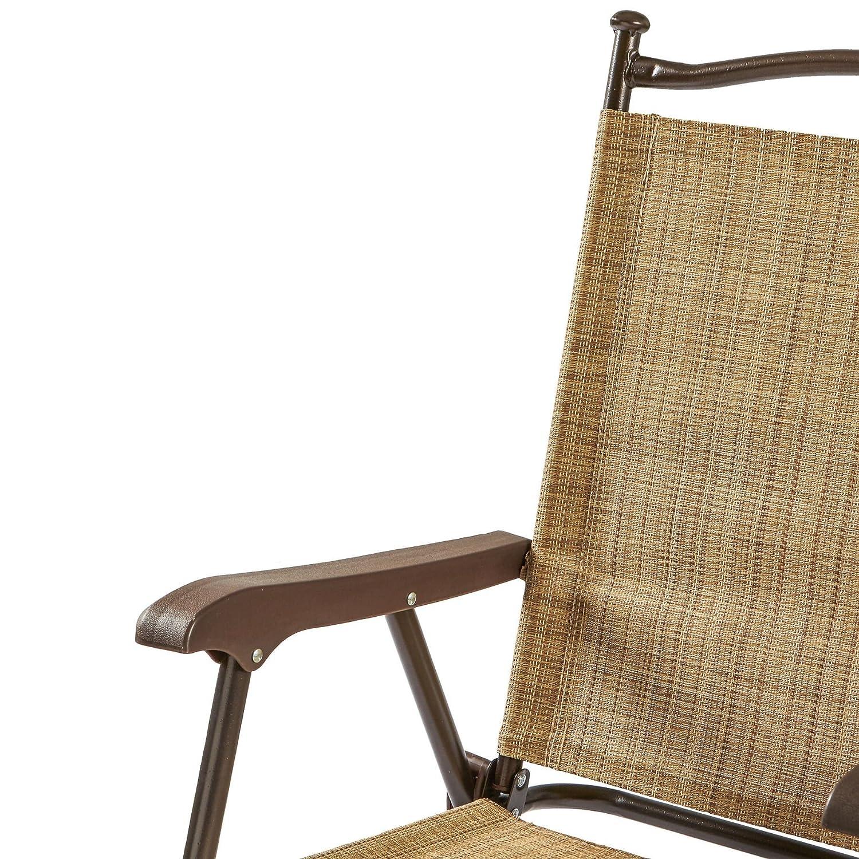 Amazon.com : Folding UV Resistant Outdoor Chairs (Set Of 2) : Garden U0026  Outdoor