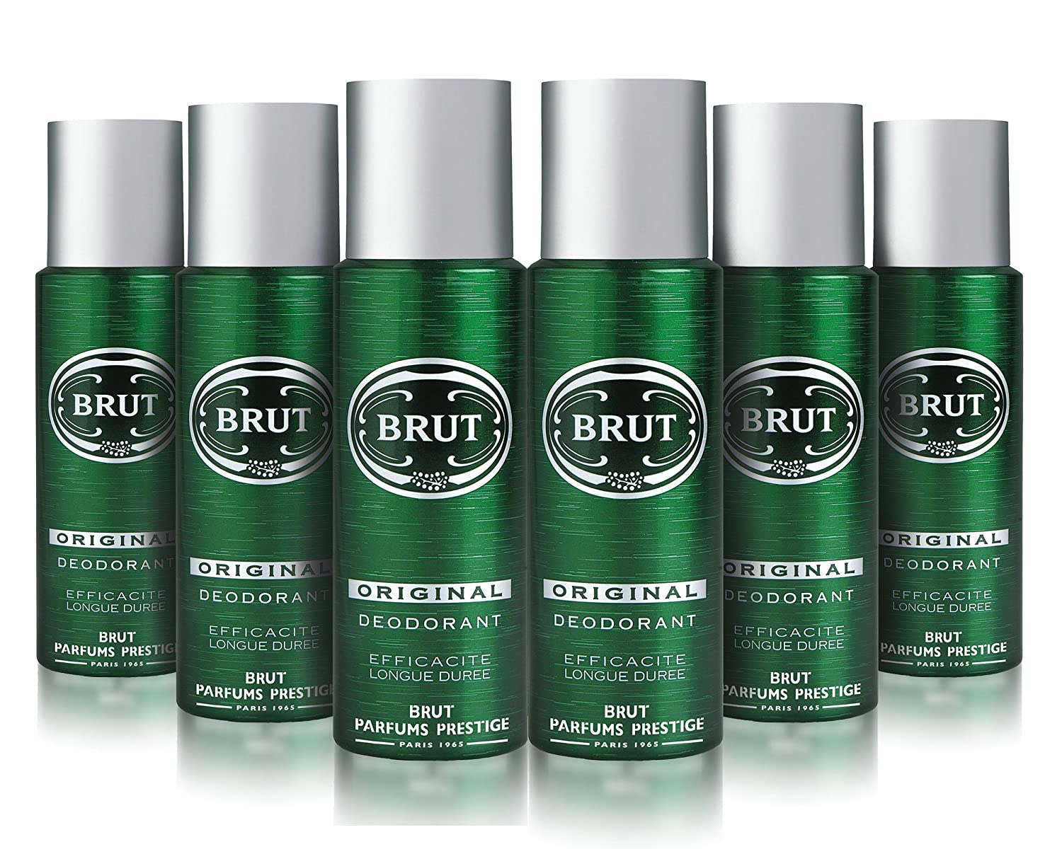 Brut Original Body Spray Deodorant Bundle 6 X 200ml Amazoncouk