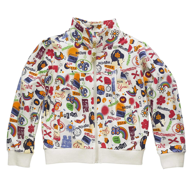 Lego Wear Mädchen Sweatshirt, All over Druck 12656 SUSIE 601 - CARDIGAN