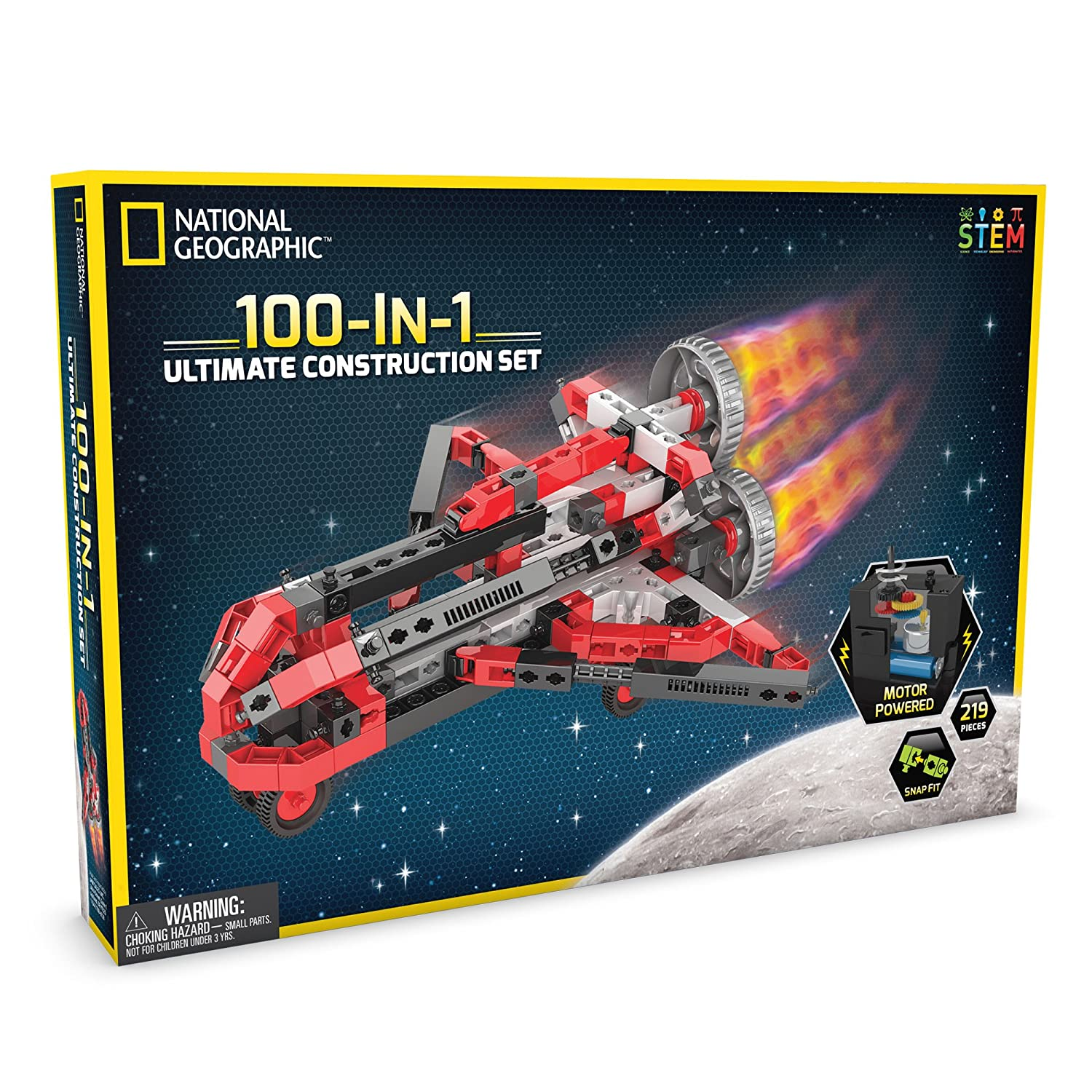 image of 100-in-1 National Geographic construction set for boys