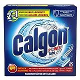 Calgon 2in1 Tabs, Wasserenthärter gegen Kalk & Schmutz in der Waschmaschine, 15 Tabs