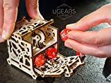 Ugears Dice Keeper - Wooden Box for Self