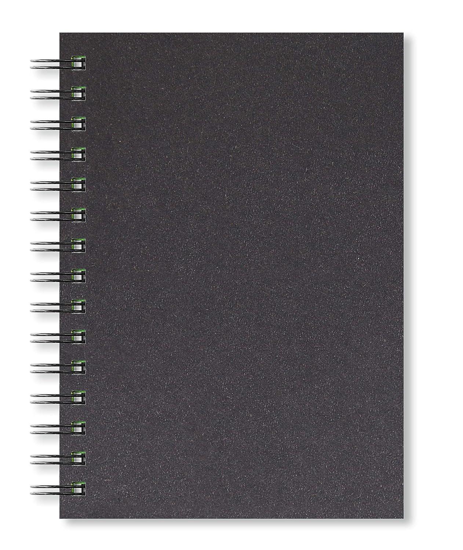 Artgecko Carnet de Croquis A5 Portrait 80 Pages 150gsm sans Acide Blanc Papier Cartouche 40 Feuilles
