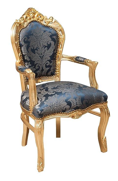 Biscottini Sillón Estilo Francés Louis XVI (Madera Maciza de ...