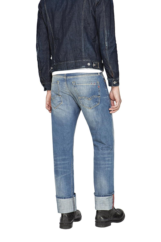 Replay Men s Waitom Regular Slim Jeans  Replay  Amazon.co.uk  Clothing ff492a5647c