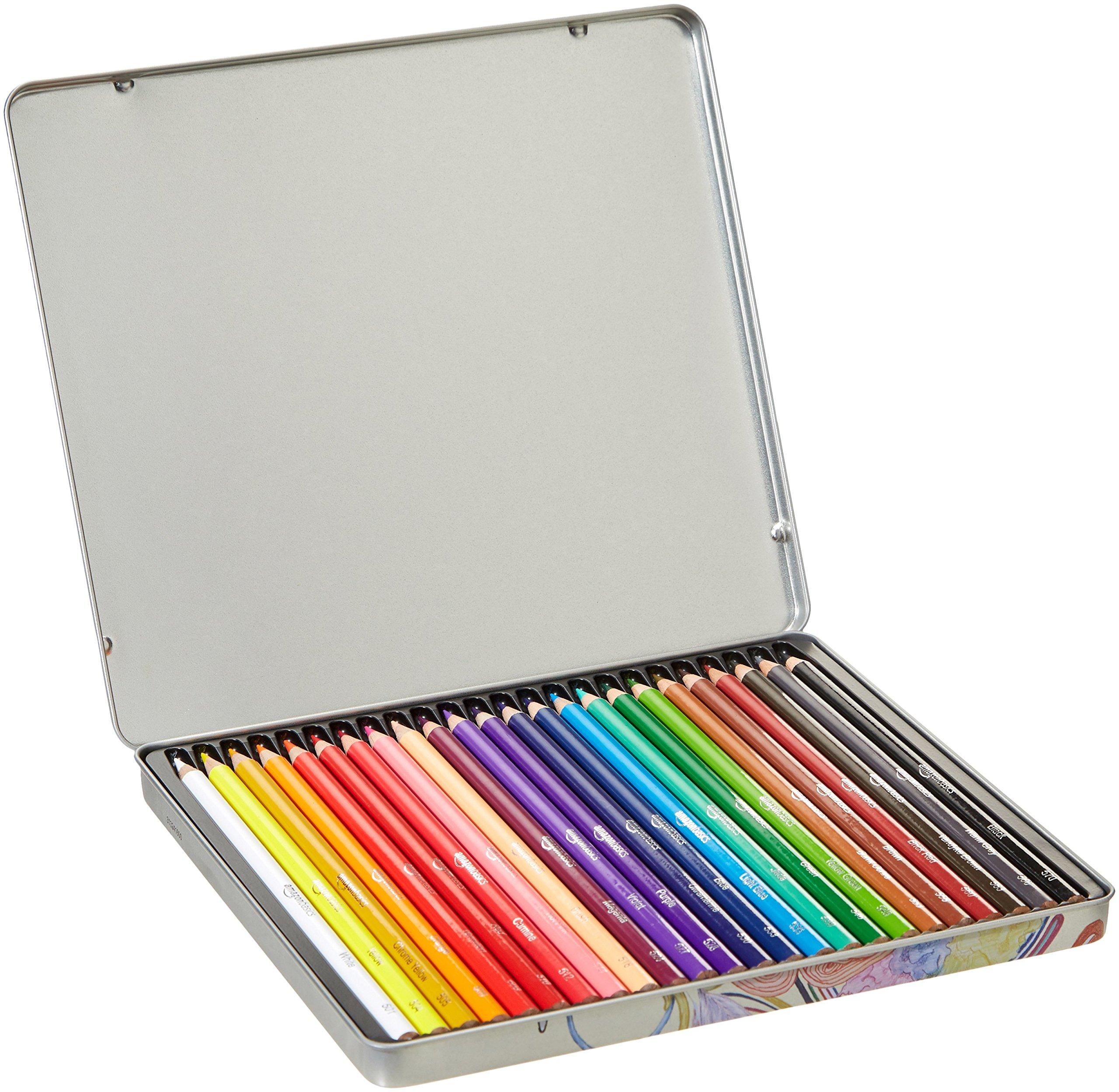 AmazonBasics Colored Pencils - 24-Count by AmazonBasics (Image #4)