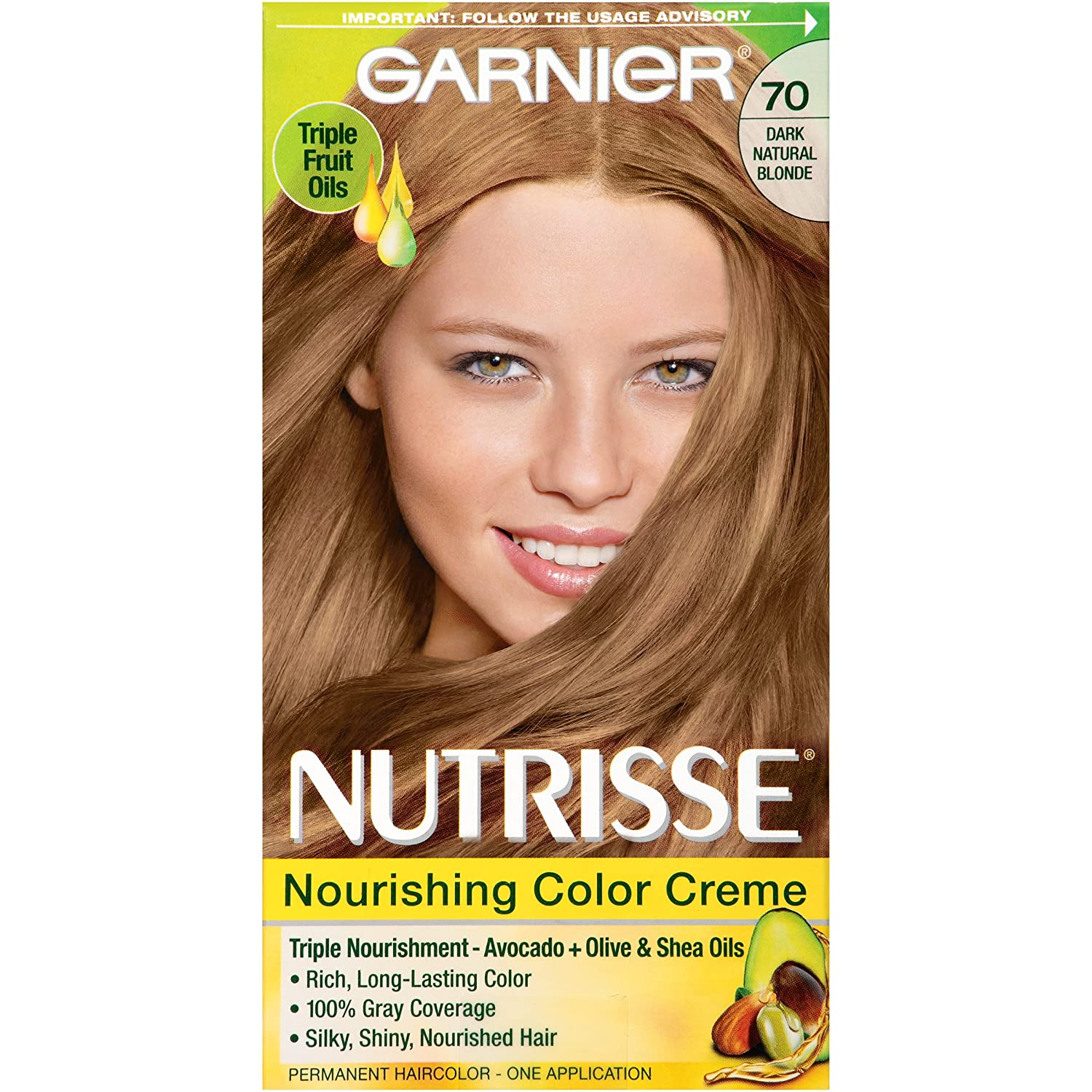 Garnier Nutrisse Hair Color Soft Mahogany Dark Brown