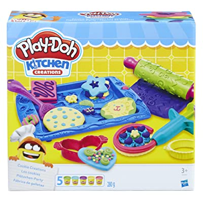Play-Doh Sweet Shoppe Cookie Creations: Toys & Games