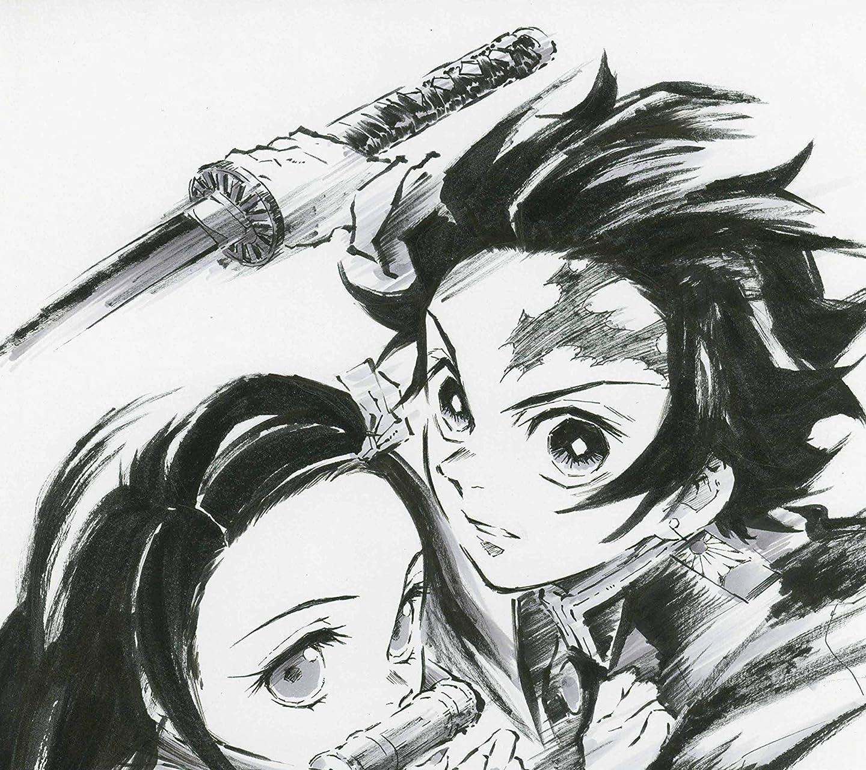 鬼滅の刃 竈門禰󠄀豆子 , 竈門炭治郎 HD(1440×1280)スマホ 壁紙・待ち受け