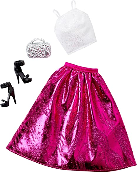 Barbie Complete Look Fashion Pack Pink Gown