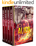 The Alien Mates Complete Series Box Set (Books 1 - 4) (Optorio Chronicles Book 3)