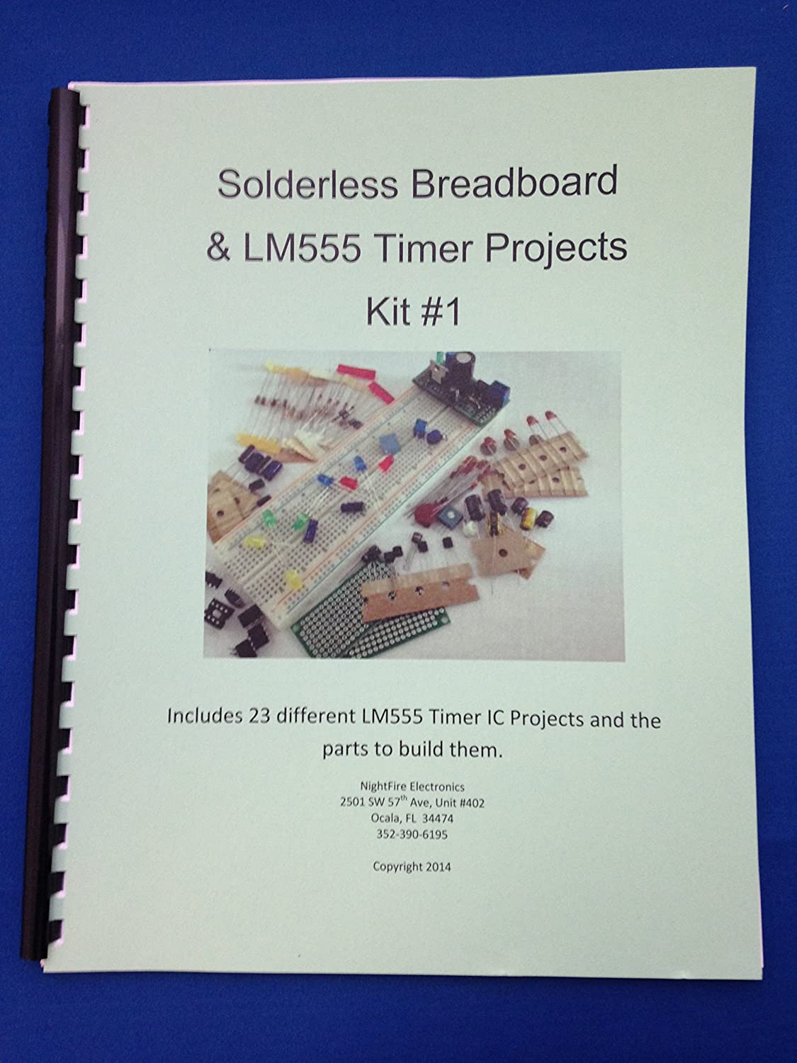 Lm555 Timer Ic Projects Kit 1 With Solderless Circuits Pearltrees Breadboard Office Products