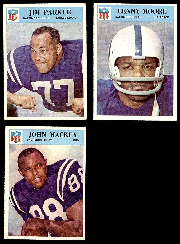 1966 Philadelphia Baltimore Colts Team Set w/o Unitas Baltimore Colts (Baseball Set) Dean's Cards 5 - EX Colts 91hQFWmj0pLSL1500_