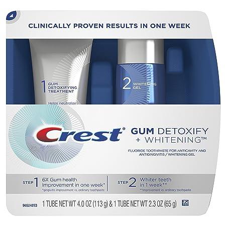 Review Crest Gum Detoxify Plus