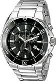 Oceanaut Men's OC5124 Seville Analog Display Quartz Silver Watch