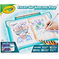Crayola Light Up Tracing Pad Teal, Amazon Exclusive, Gifts, Kids Toys, Ages 6, 7, 8, 9, 10
