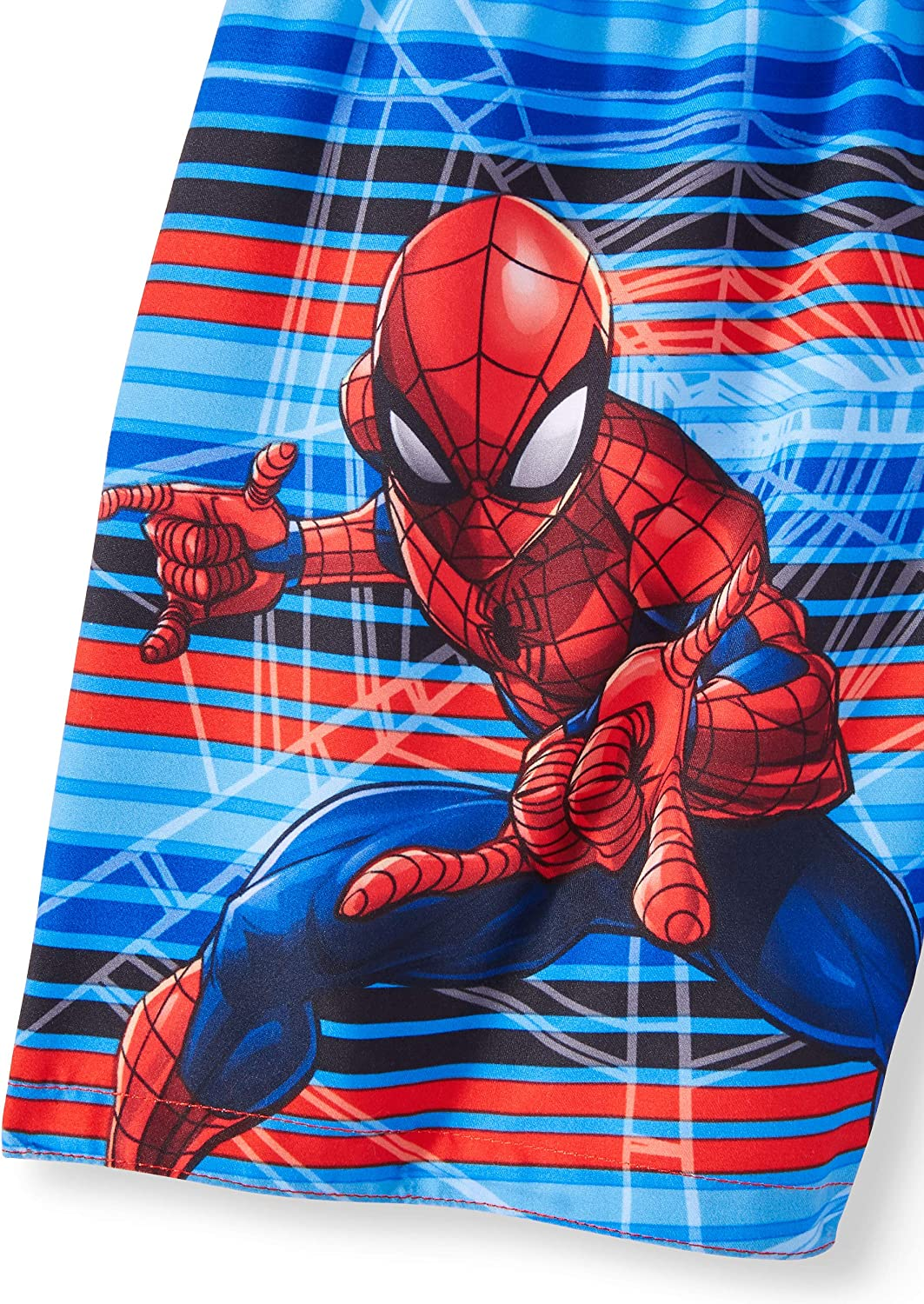 Spider-Man Toddler Boys Blue Red Combo Swim Short Trunk 4T