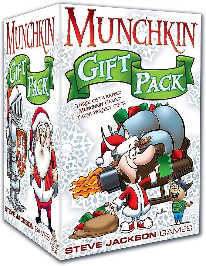 Steve Jackson Games sjg03936 No Munchkin Gift Pack, Juego: Amazon.es: Juguetes y juegos