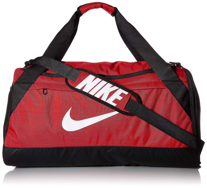 check out 903e2 30dc4 Amazon.com  NIKE Brasilia Duffel Bag, University Red Black White, Medium   Sports   Outdoors
