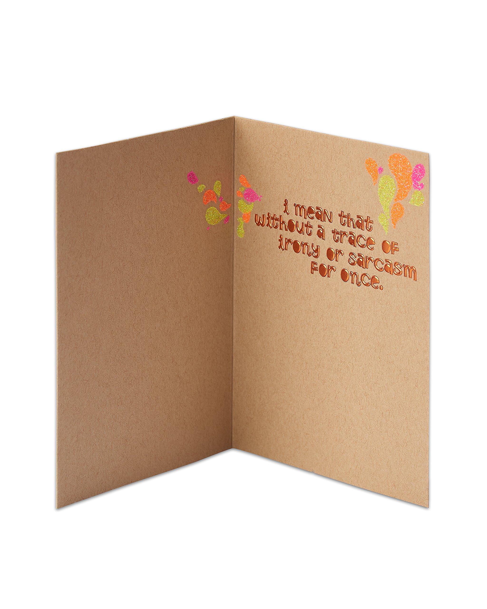 American Greetings You're Awesome Birthday Card with Glitter - 5856772 by American Greetings (Image #2)