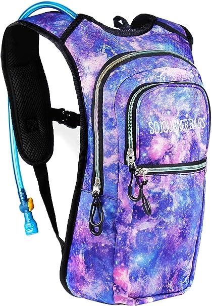 Sojourner Rave Hydration Pack Backpack - 2L Water Bladder Included for  Festivals fd546702fe66