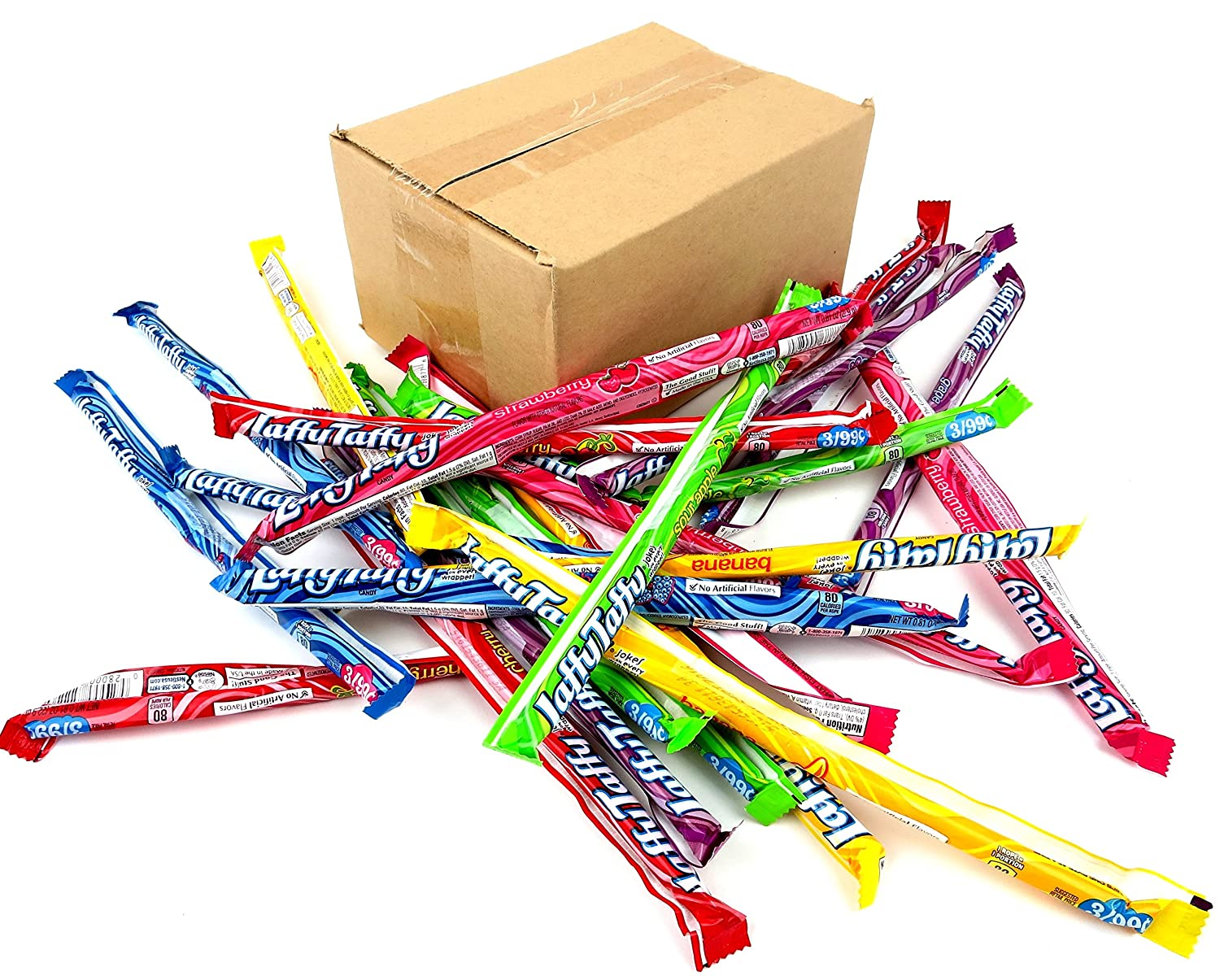 Laffy Taffy Rope Variety Pack (Pack of 24) Frustration Free Packaging