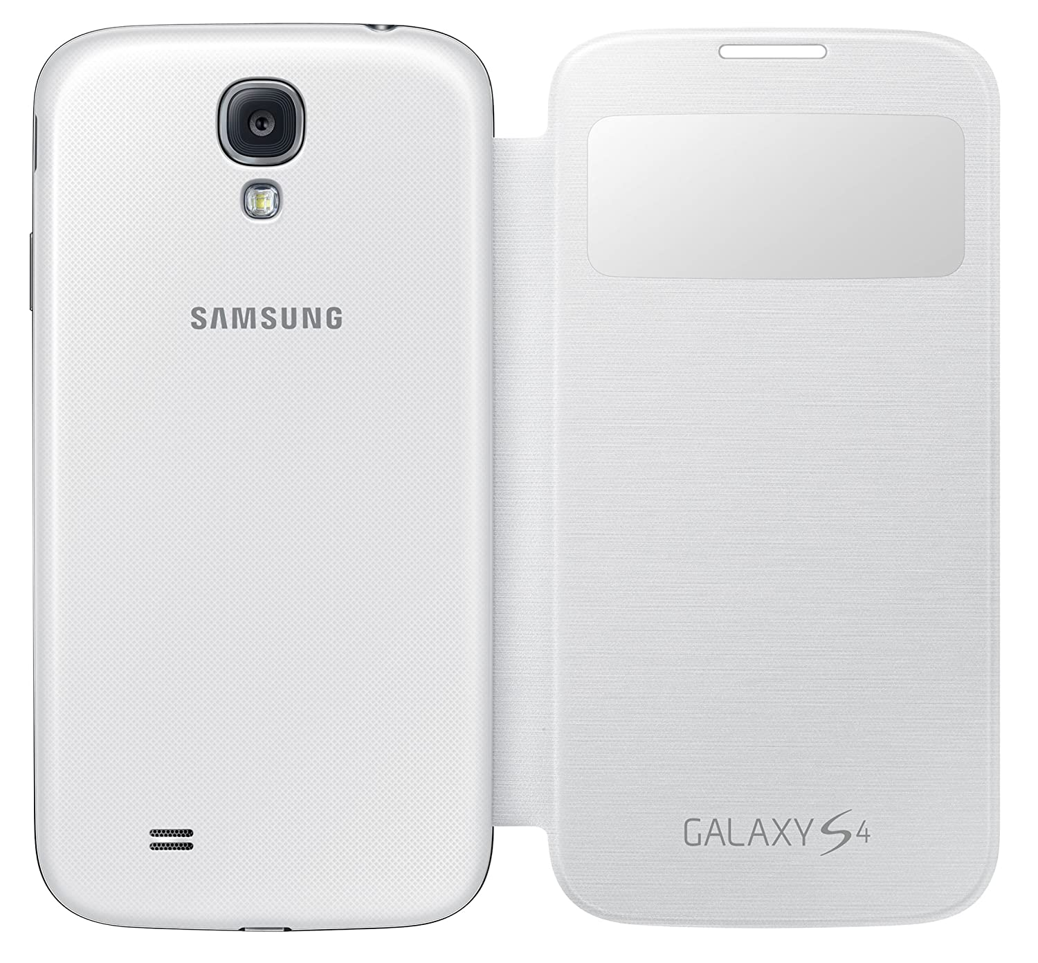 Samsung galaxy s4 premium cover white amazon electronics ccuart Image collections