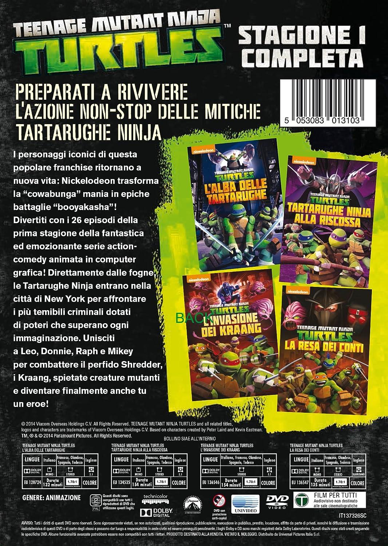 Amazon.com: teenage mutant ninja turtles - season 01 (4 dvd ...