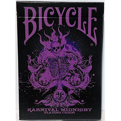 Limited Edition Karnival Midnight Purple Deck Playing Cards by Bicycle: Toys & Games