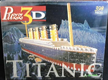 Buy Puzz 3d Titanic 398 Piece Puzzle Online At Low Prices