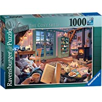 Ravensburger The Cosy Shed 1000 Piece Jigsaw Puzzle for Adults - Every Piece is Unique, Softclick Technology Means…