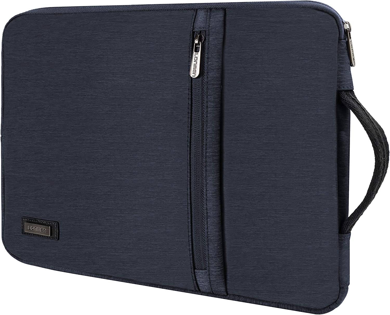 LONMEN 10.1 Inch Laptop Sleeve Case Water-Resistant Tablet Protective Carrying Handle Bag for 10.5