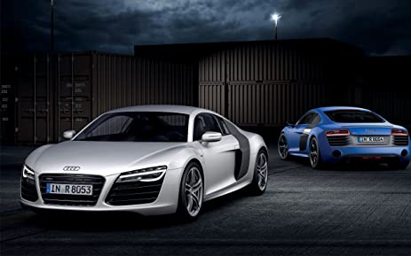 Amazon 2013 Audi R8 V10 Plus 3 18x24 Poster Banner Posters